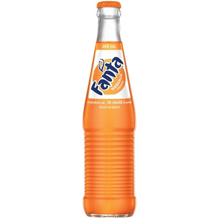 Fanta Orange Soda 16 9 fl  oz  Bottle
